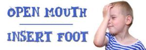 foot-in-mouth